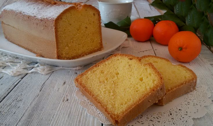 Plumcake olio e arancia ricetta Iginio Massari