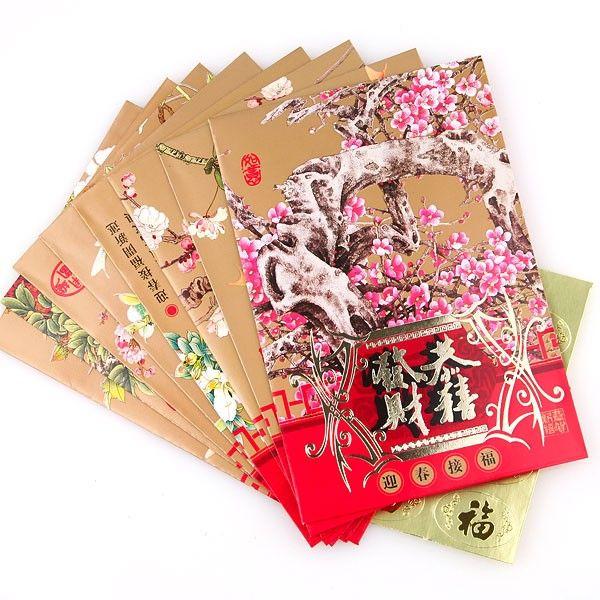 Chinese new year envelopes