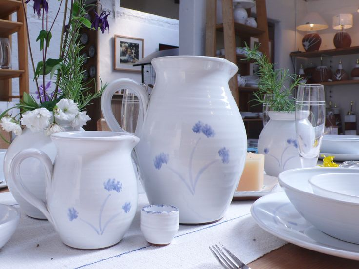 Jugs by Stephen Pearce Pottery.