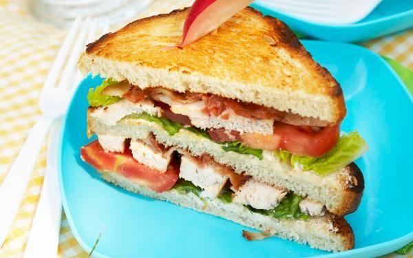 Oppskrift på Club Sandwich