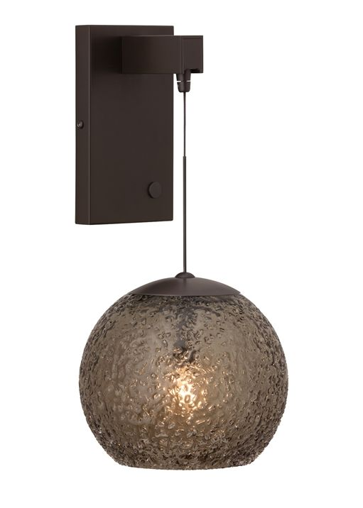 Turn virtually any lbl lighting low voltage fusion jack pendant into a wall sconce