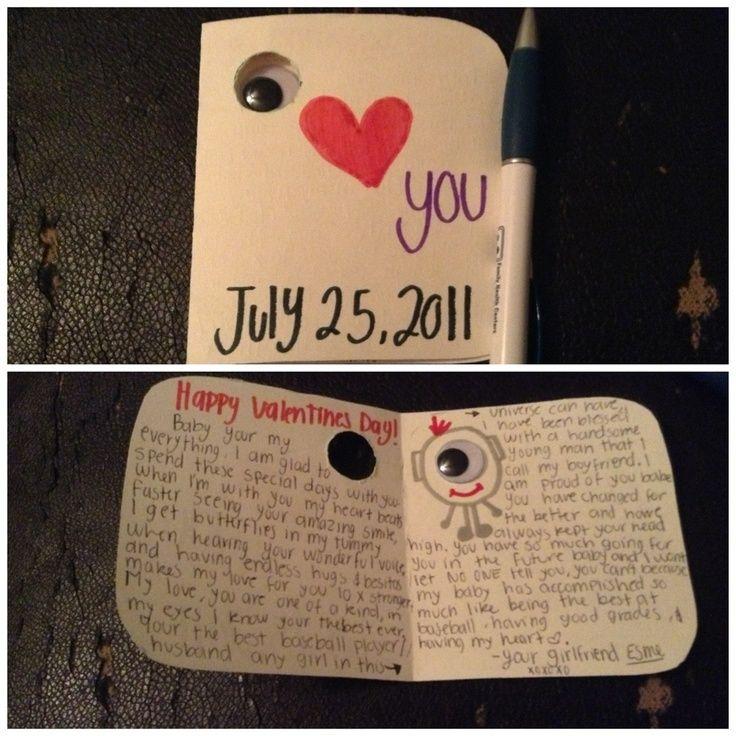 Pin By Gurveena Gill On Bday Cards Diy Birthday Cards For Boyfriend Birthday Present For