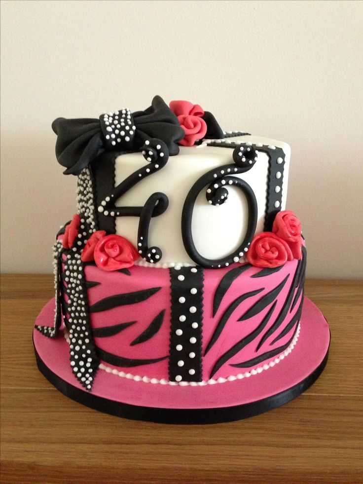 Birthday Cake Pics For Ladies : 40th birthday cake My cakes and sugar art. Pinterest ...