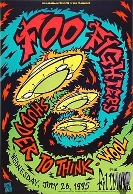 Chris Shaw. Rock Posters.