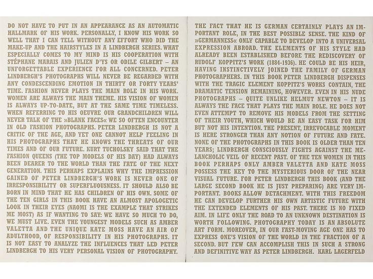 """Peter Lindbergh ›› Books ›› """"10 Women"""""""