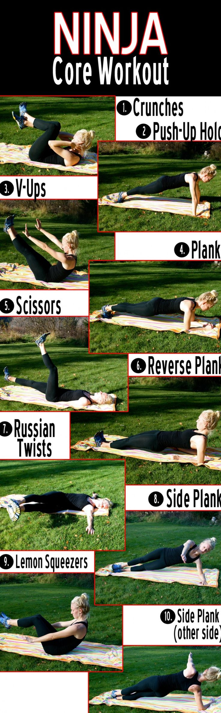 This Daily Workout Routine is specifically aimed to target your core area. This is an awesome workout.