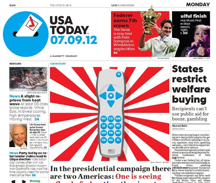 'USA Today' Unveils New Look, Logo