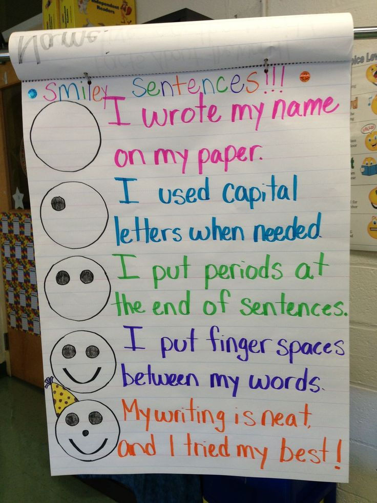 creative writing kindergarten lesson