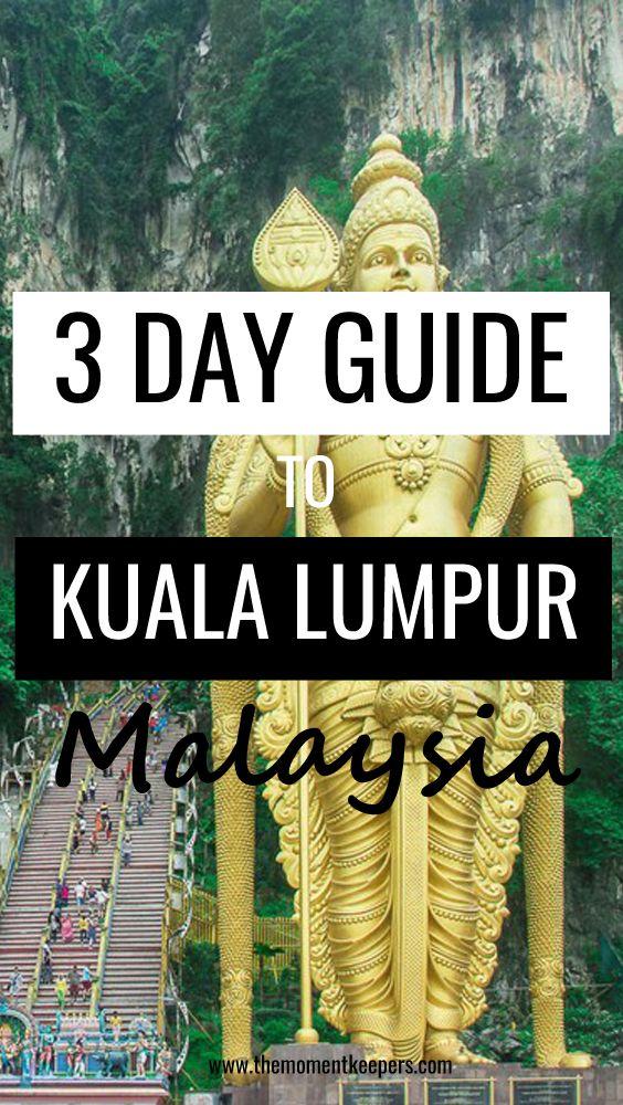 3 Days Itinerary to Kuala Lumpur, Malaysia - #Malaysia #KualaLumpur #Travel #Guide #BatuCaves #PetronasTowers #Itinerary