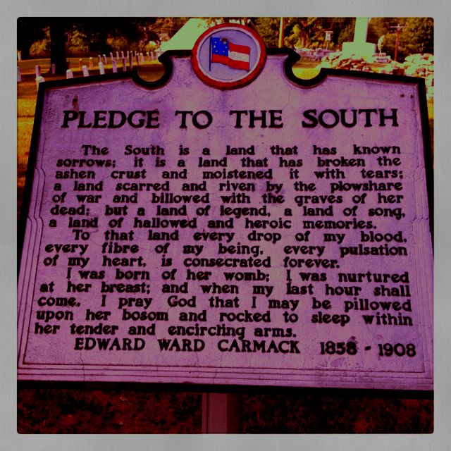 Pledge To The South