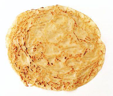 Detta recept på pannkakssmet är helt utan gluten, utan ägg och utan mjölk.