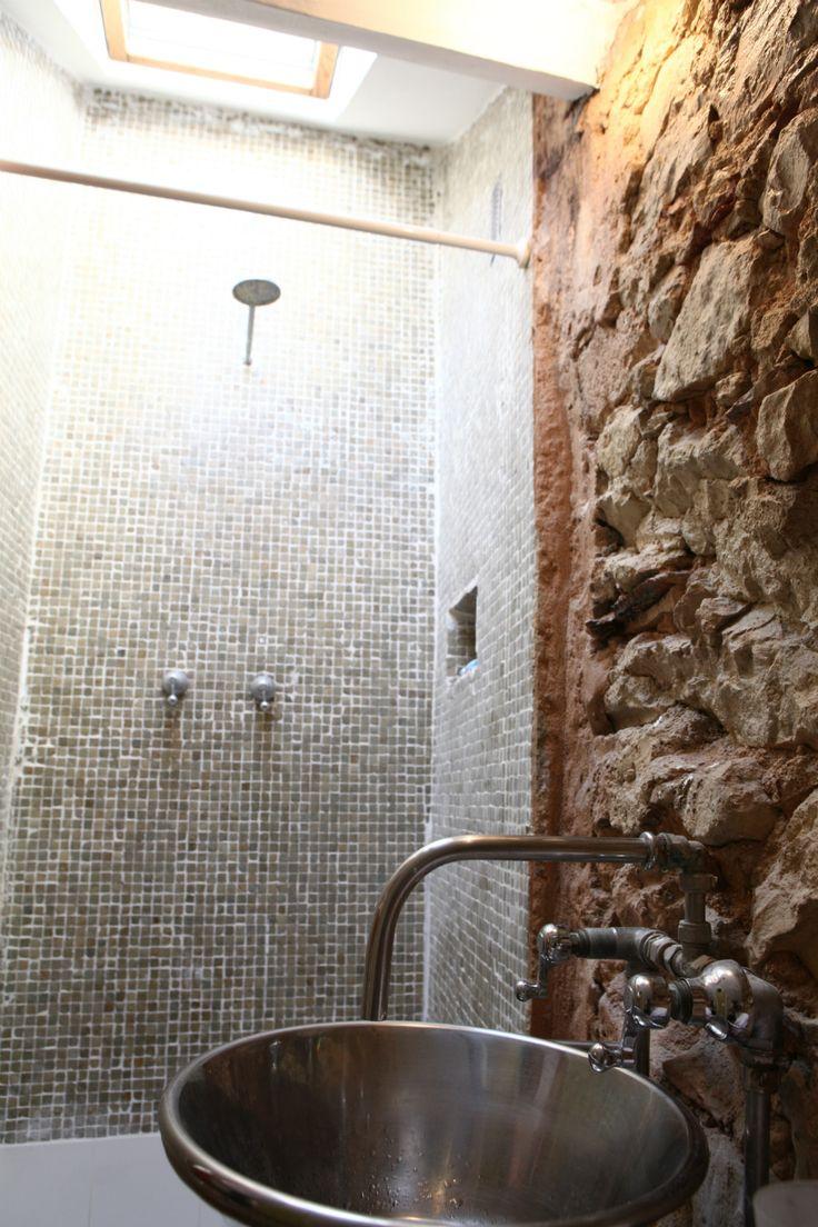 #POLIGONO #Jacuzzitriplex #bathroom #sink #mosaic