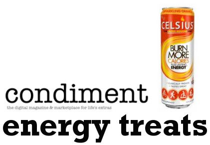 Condiment Magazine Reviews Energy Treats