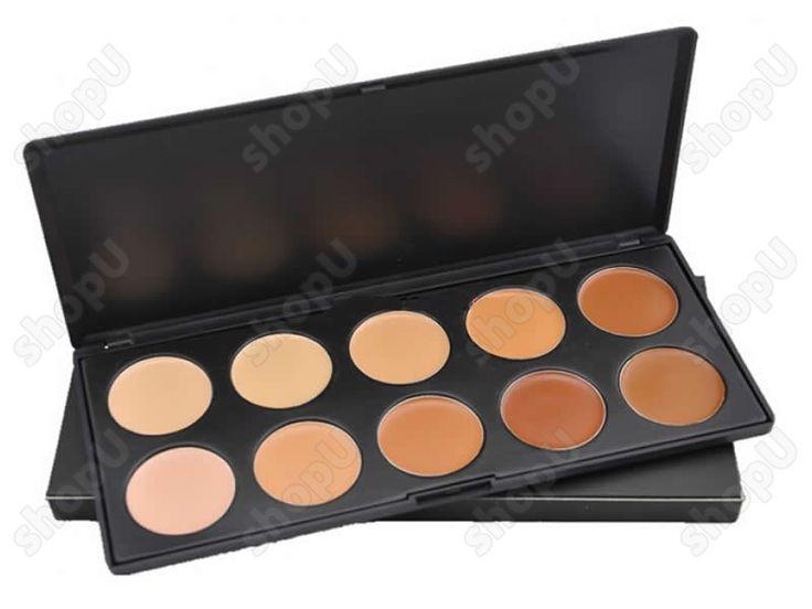 Trusa pentru fond de ten CM027 - Pret 18 Lei - Sanatate si frumusete - Make-Up - shopU.ro - Cel mai ieftin shop din RO!