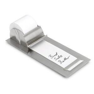 I've been looking for one of these for ages. A modern take on a old-fashioned tool.: Office, Idea, Muro Notepaper, Blomus Notepaper, Notepaper Roll, Desk