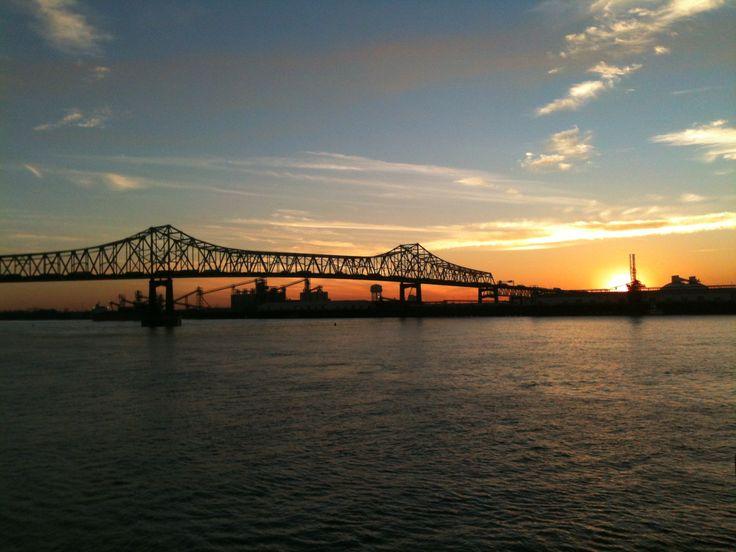 Mississipi River - Baton Rouge, USA