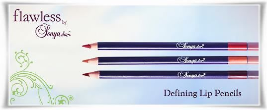 Defining Lip Pencils - Flawless By Sonya | Forever Living Products. Shop Online from Retail eshop. #LipPencil #MakeUp #Cosmetics #FlawlessBySonya #ForeverLivingProducts‬