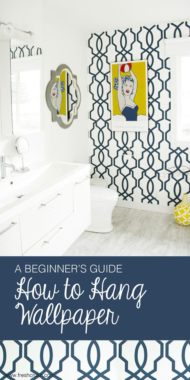 Beginners guide to hang wallpaper