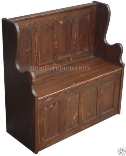 Nantucket Storage Bench Cottage Style Solid Wood 15: 55 Best MONKS BENCH FURNITURE Images On Pinterest