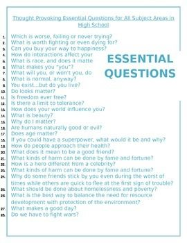essential questions for essays Writing two opinions – there are questions that will ask you to tackle about two opinions specifically while giving your opinion disagreeing or agreeing – you will also be asked to disagree or agree with a single opinion.