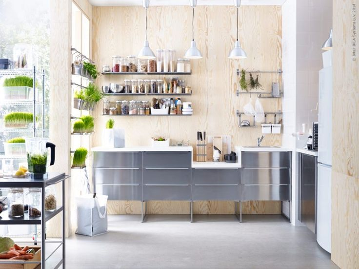 A Whole Section In IKEA Kitchen Ideas Around Having And Using A RAW Food  Kitchen.