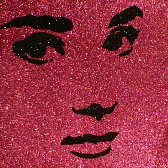 Audrey Hepburn Inspired Vintage Hollywood Glitter by GlitterMortis