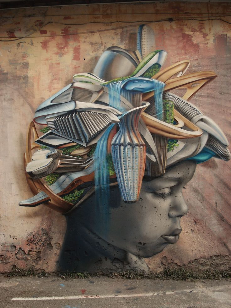 Best Street Art Love Ideas On Pinterest Street Art Utopia - Amazing graffiti alters perspective space