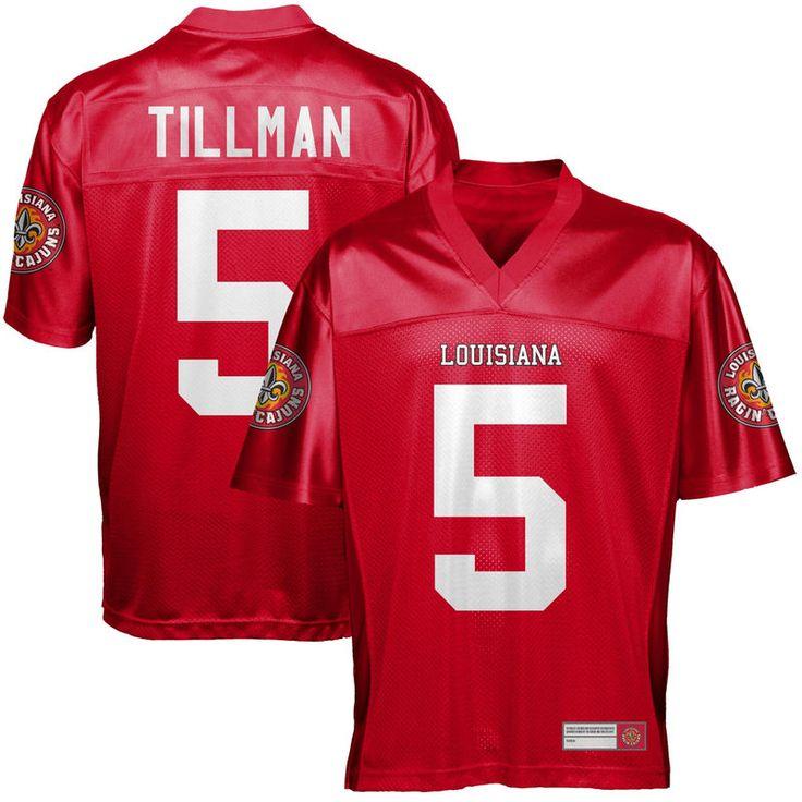 Charles Tillman Louisiana-Lafayette Ragin Cajuns Football Jersey - Vermillion