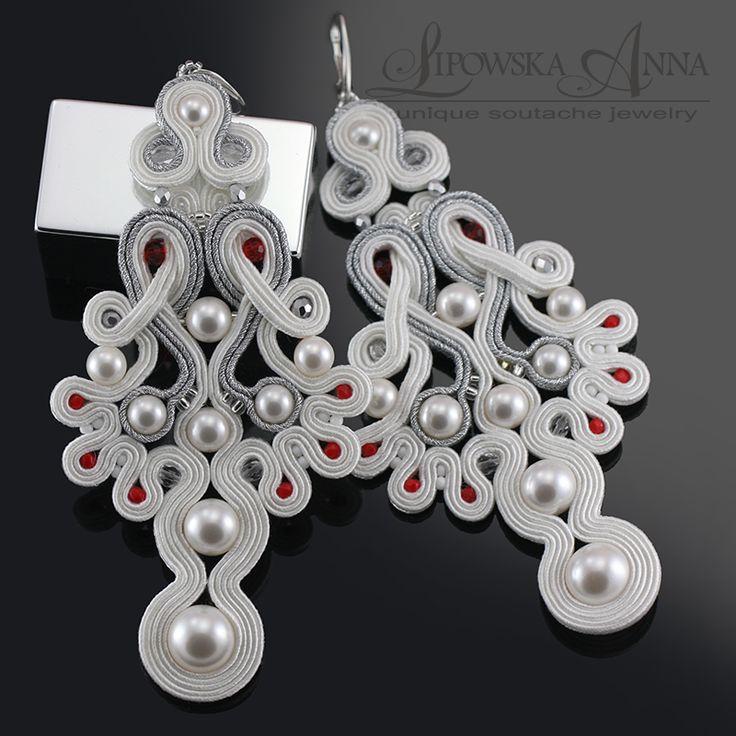 561 Anna Lipowska LiAnna Biżuteria sutasz soutache www.lianna.blox.pl wedding bridal ślub kolczyki ślubne #wesele #bridal #ekskluzywne #eleganckie