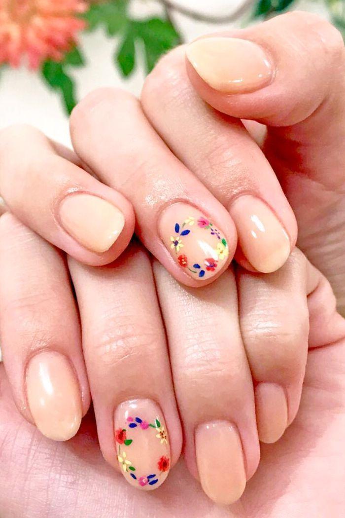 unique wedding nails ideas