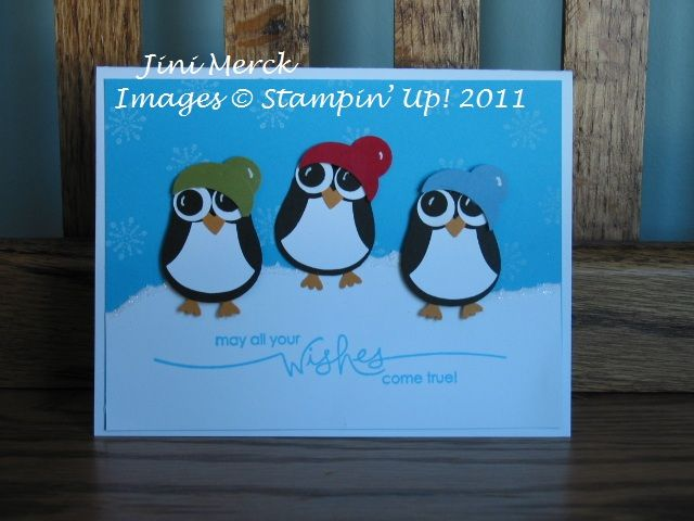 Turn your owl punch figures into adorable little penguins