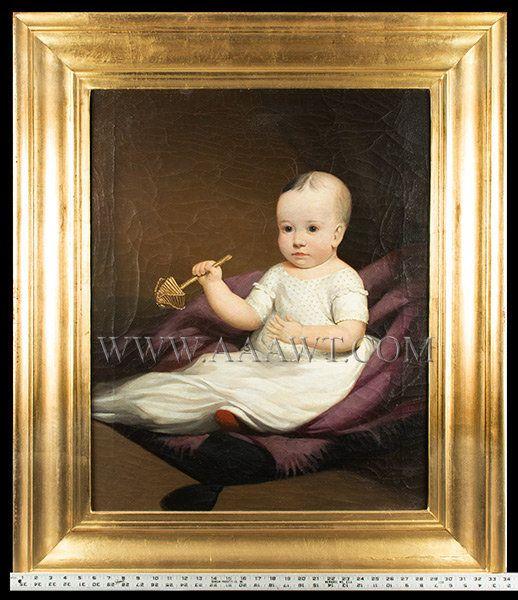 More Antique Formal Portrait, Formal, Famous Portrait Artists, Americana