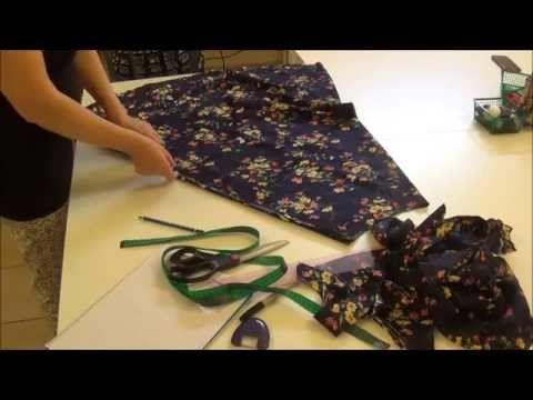 Come tagliare e cucire una gonna a mezza ruota - Corso base modellista Sitam online - YouTube
