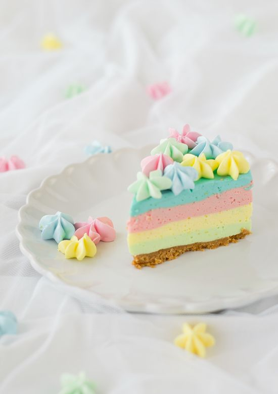 Sweet Tooth Girl | sweetoothgirl: Rainbow Cheesecake