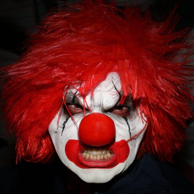 Angry Clown head