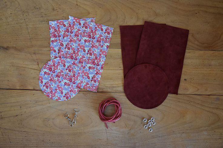 DIY : le sac seau en cuir de « La Mallette des Minettes » - Modesettravaux.fr