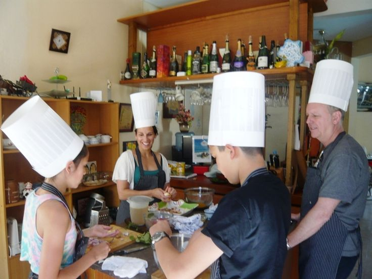 Every body loves to cook.