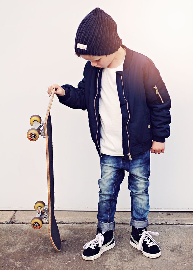 Luke jacket, Brandon t-shirt, Dehli jeans and Noor beanie Pic #stylechild