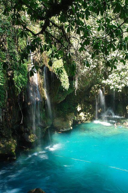 *MEXICO ~ Puente de Dios Waterfalls in Tamasopo, San Luis