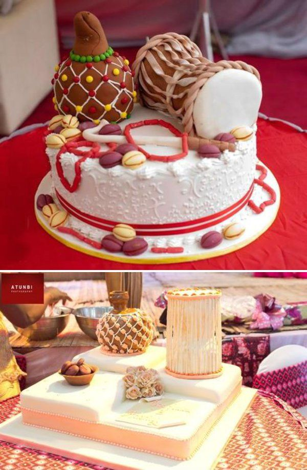 traditional wedding cakes in nigeria. For more - http://www.weddingfeferity.com/traditional-wedding-cakes-pictures-in-nigeria/
