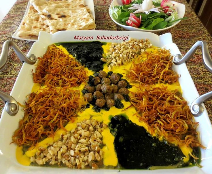 Iranian food aash food design pinterest iranian for A treasury of persian cuisine