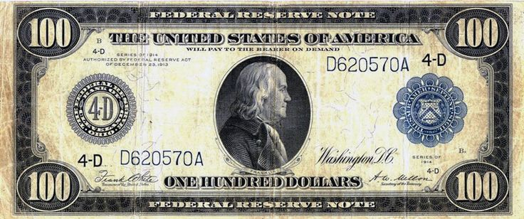 """Federal Reserve Note. A Federal Reserve Note is a type of banknote issued by the Federal Reserve System and is the main type of paper currency in the United States. Federal Reserve Notes are fiat currency, with the words """"this note is legal tender for all debts, public and private"""" printed on each bill. They are issued by the Federal Reserve Banks and have replaced United States Notes, which were once issued by the Treasury Department. Date: 1914 