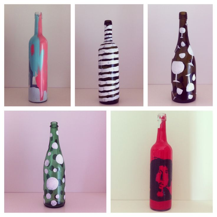 Some of the bottles that are jn progress :)