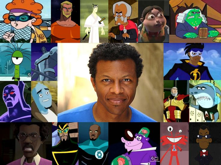 The Voice Of - Phil LaMarr by Legion472 on DeviantArt