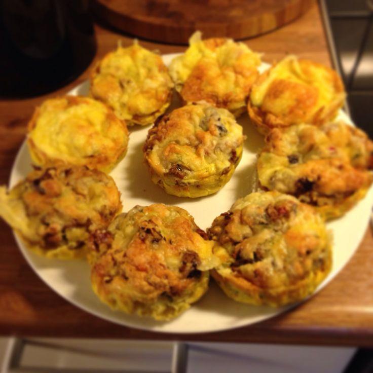 Omelett muffins!