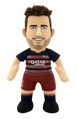 Poupluche Gerard Piqué 25 cm - FC Barcelone - Saison 2015/16 - 24,90 €