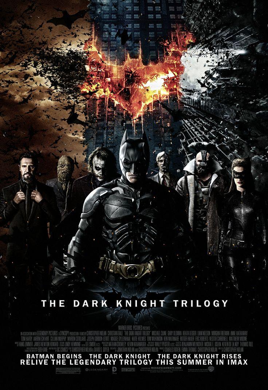 Batman Trilogy Fan Art Poster