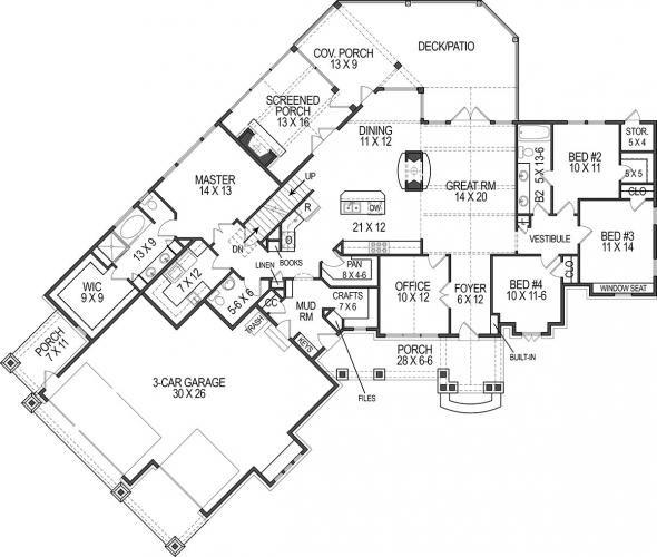 14 best Unique Floor Plans images on Pinterest Unique floor plans - new blueprint for 3 car garage
