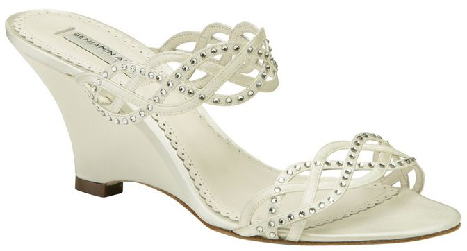 Ivory Wedding Wedge Heels: 34 Best Images About Ivory Bridal Shoes On Pinterest