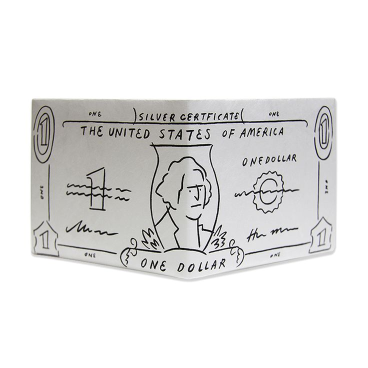 LIXTICK PAPER WALLET - DOLLAR by YU NAGABA